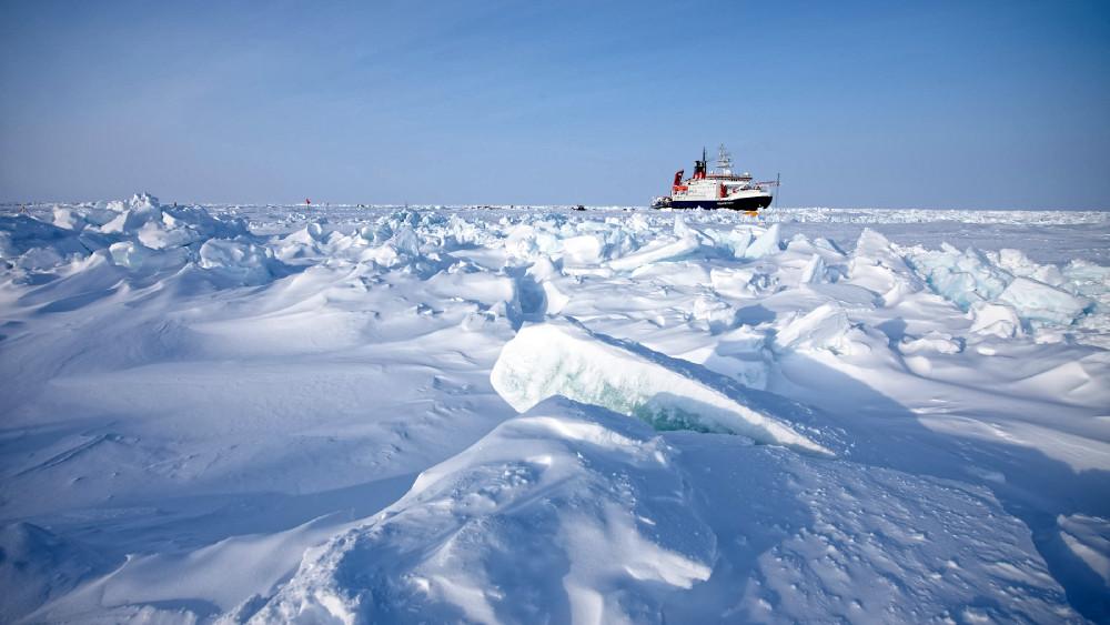 FS Polarstern seen from MET City. (Photo: Michael Gutsche)