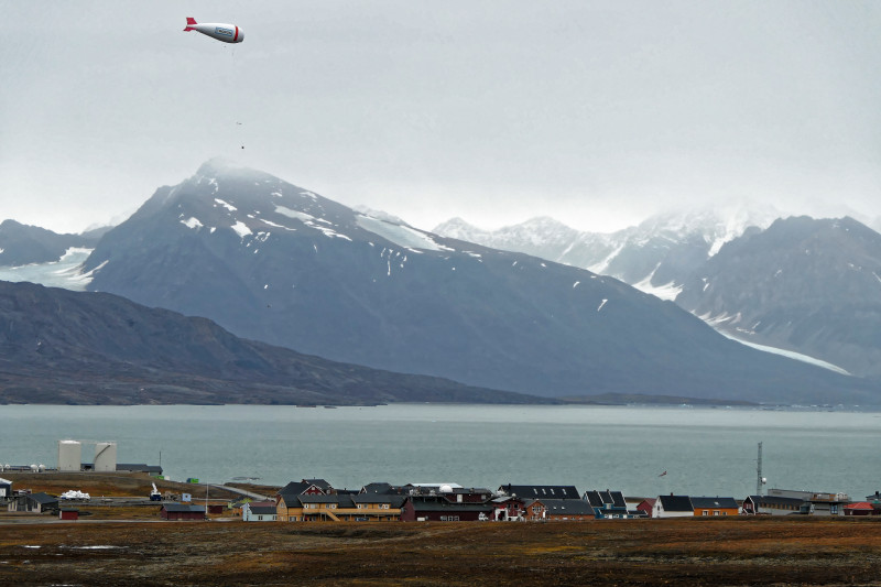 Ny-Ålesund is the northernmost settlement on Spitsbergen. After the end of mining, the place has developed into an international research centre. Photo: Sebastian Zeppenfeld, TROPOS