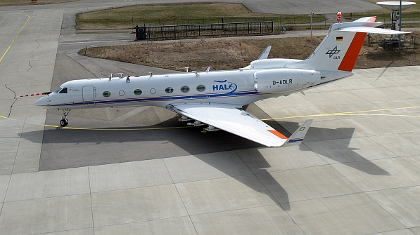 Im Rahmen der Mission ML-CIRRUS absolviert HALO bis Ende April 2014 insgesamt 12 Messflüge. Bis 2018 sind mit HALO acht weitere große wissenschaftliche Missionen geplant. Foto: Stephan Mertes/TROPOS