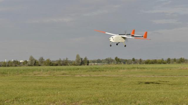 UAV Aladina in Melpitz. Foto: Birgit Wehner/ TROPOS