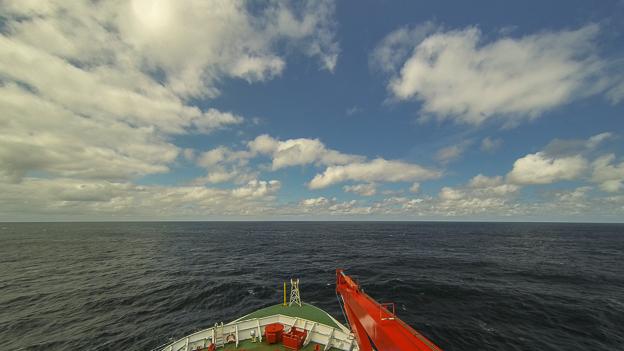 Wolken über dem Atlantik. Foto: Tilo Arnhold/TROPOS