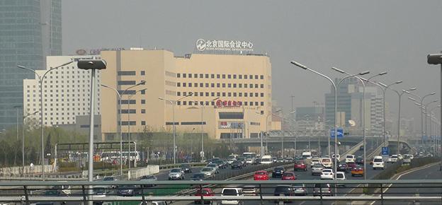 Peking ist als Hotspot der Luftverschmutzung einer der Orte für TROPOS Langzeitstudien. (Quelle: Bettina Nekat/TROPOS)