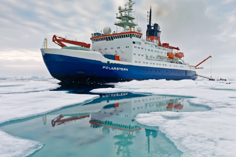 RV Polarstern. Photo: Alfred-Wegener-Institut/Mario Hoppmann