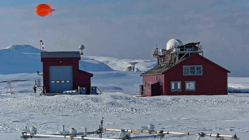 Station AWIPEV at Svalbard. Photo: Alfred Wegener Institute/Jürgen Gräser