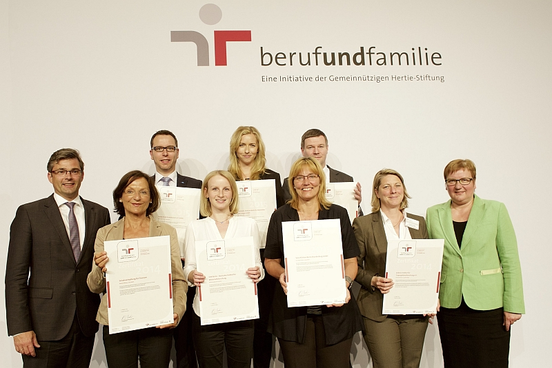 Arbeitgeber aus Berlin und Sachsen. Foto: berufundfamilie