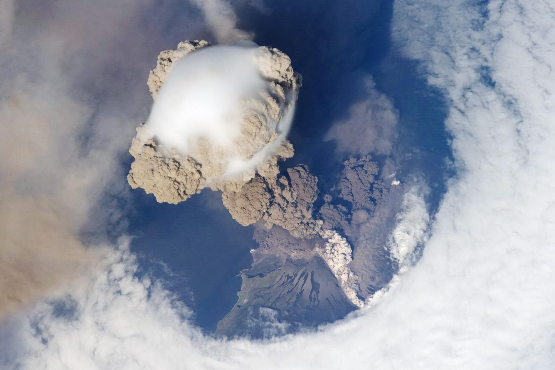 The Sarychev volcano