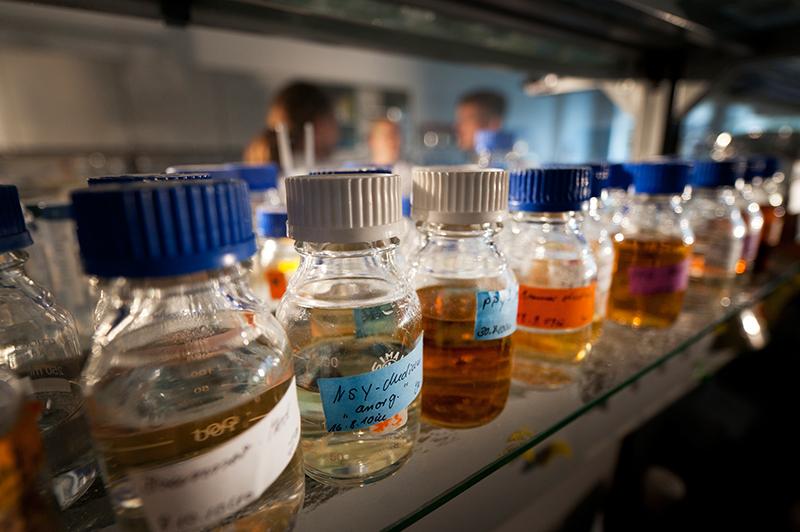 Chemikalien in der Umwelt ist das übergeordnete Thema, zu dem sich über 500 Chemiker aus Europa auf der ICCE 2015 in leipzig treffen. Foto: Andre Künzelmann/ UFZ