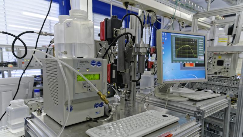 Weltkalibrierzentrum für aerosol-physikalische Feinstaubmessungen (WCCAP), das TROPOS im Auftrag der Weltorganisation für Meteorologie (WMO) in Leipzig betreibt