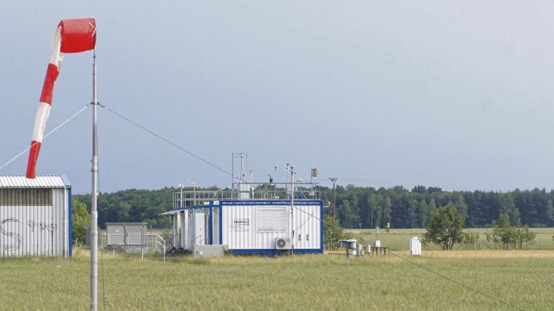 Die TROPOS-Station in Melpitz bei Leipzig (im Bild) lieferte Felddaten aus der Atmosphäre, welche die Laborbefunde unterstützen. Foto: Gerald Spindler, TROPOS