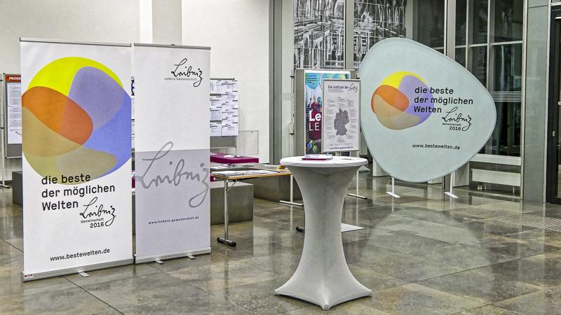 """Um die """"beste der möglichen Welten"""" ging es dabei im Leibniz-Jahr 2016 im Neuen Augusteum der Universität. Foto: Beate Richter, TROPOS"""