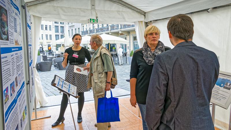 Die Leibniz-KollegInnen sind die ersten Gäste. Foto: Honey Alas, TROPOS