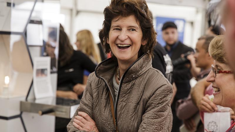 Wissenschaftsministerin Dr. Eva-Maria Stange. Foto: CHRISTIAN HÜLLER FOTOGRAFIE