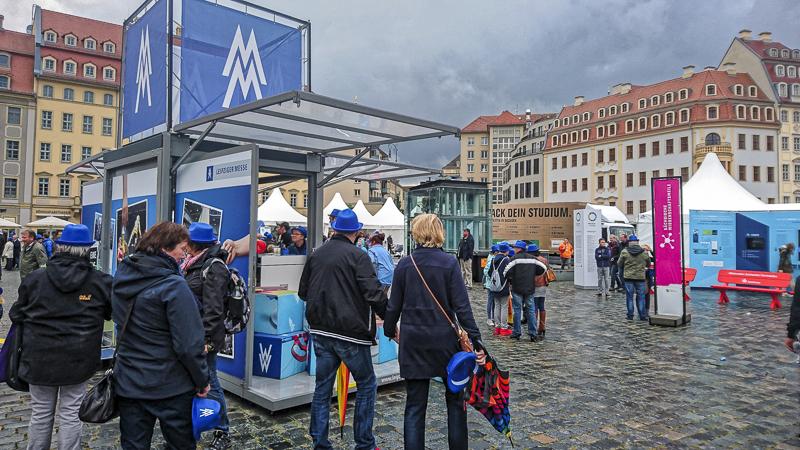Wissenschaftsmeile: Leipziger Messe. Foto: Tilo Arnhold, TROPOS