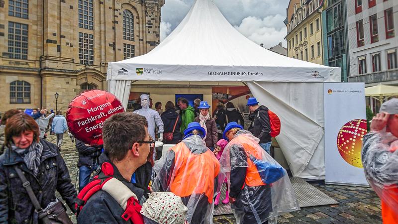 Wissenschaftsmeile: Globalfoundries Dresden. Foto: Tilo Arnhold, TROPOS