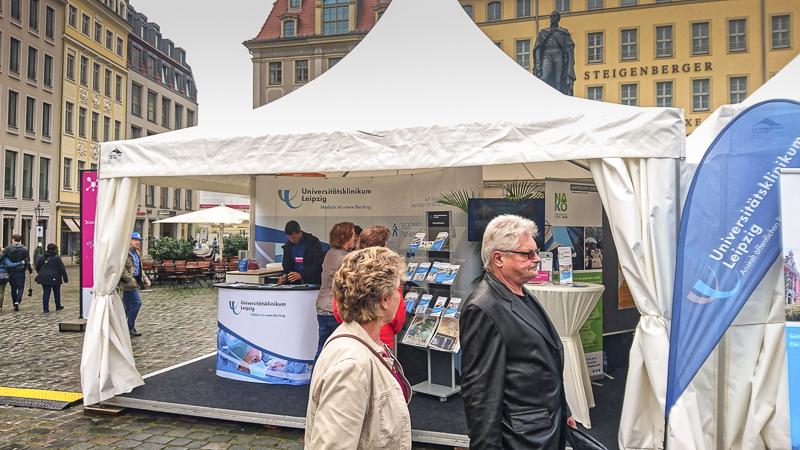 Wissenschaftsmeile: Universität Leipzig. Foto: Tilo Arnhold, TROPOS
