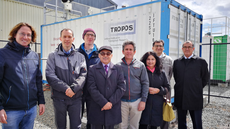 Official opening of DACAPO-PESO in Punta Arenas. Photo: Comunicaciones UMAG