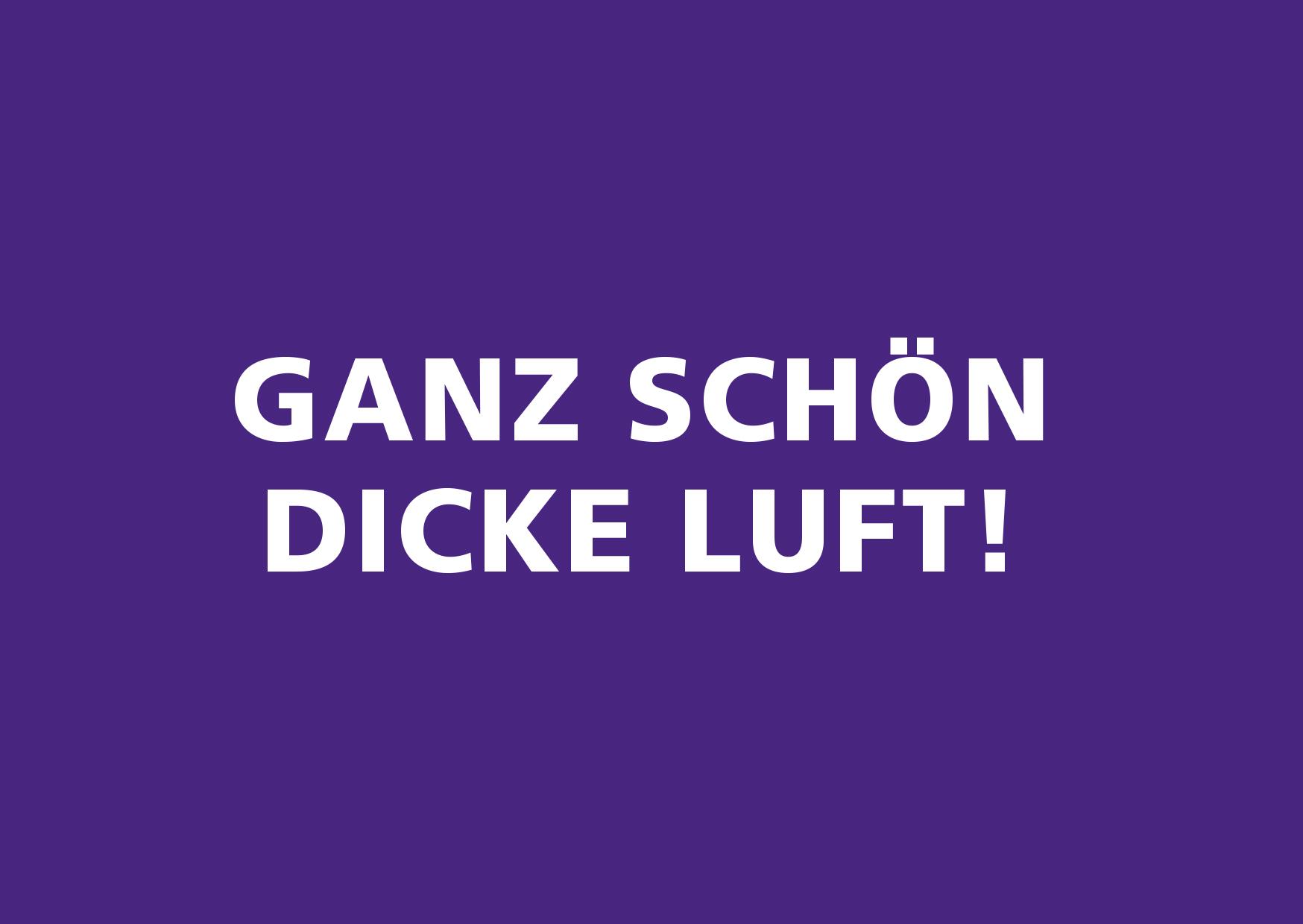"""""""Dicke Luft – Wenn Städte ersticken"""""""