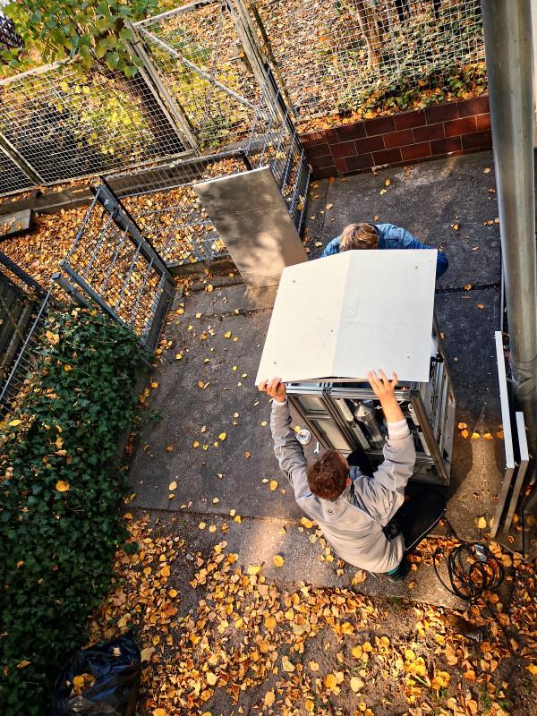 Zwischen 2016 und 2019 wurden im Auftrag des Umweltbundesamtes insgesamt 40 Nichtraucher-Wohnungen in Leipzig und Berlin auf Fein- und Ultrafeinstaub aufwendig untersucht – sowohl in den Wohnungen als auch auf deren Balkons. Foto: Jiangyue Zhao, TROPOS