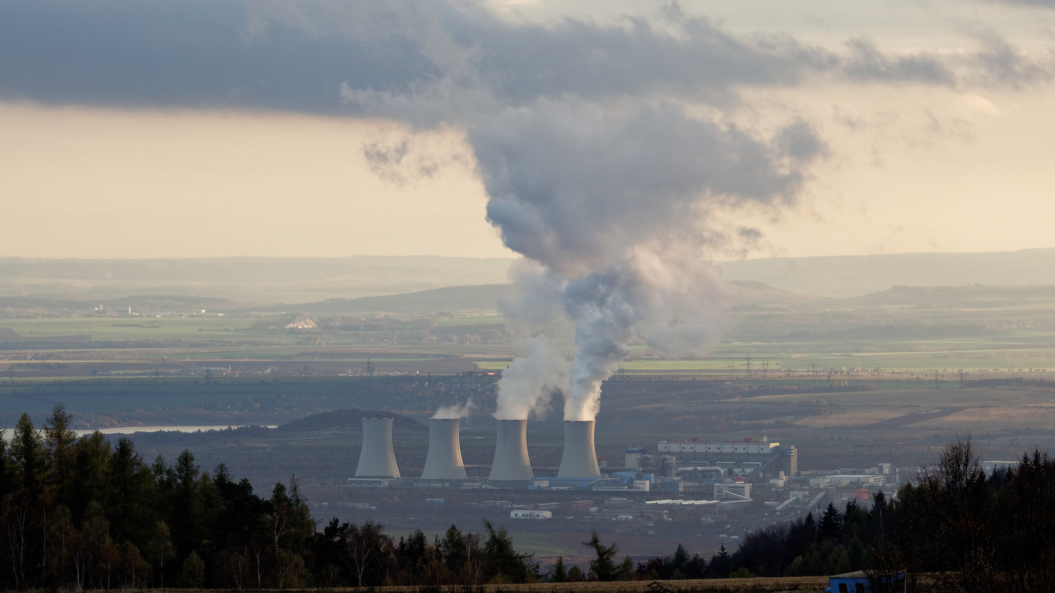 coal power plant Tusmice in northwest of Czech Republic. Photo: Tilo Arnhold/TROPOS