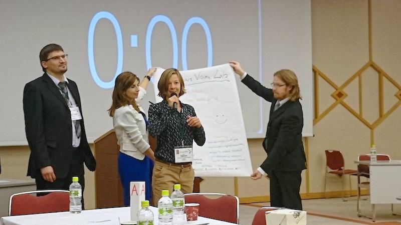 Gruppenarbeit während des STS-Forums in Kyoto. Foto: Manuela van Pinxteren/TROPOS