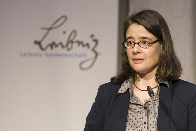 Festrede von Prof. Dr. Maria Rosa Antognazza (King's College London) – vorgetragen von Dr. Linde Götz (IAMO)