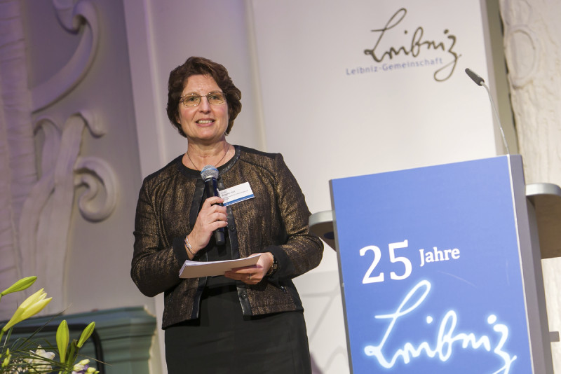 Moderatorin Prof. Dr. Brigitte Voit (IPF)