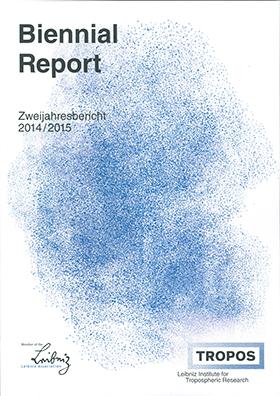 Titelbild: Zweijahresbericht 2014/2015 / TROPOS