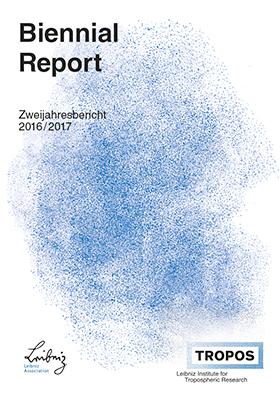 Titelbild: Zweijahresbericht 2016/2017 / TROPOS