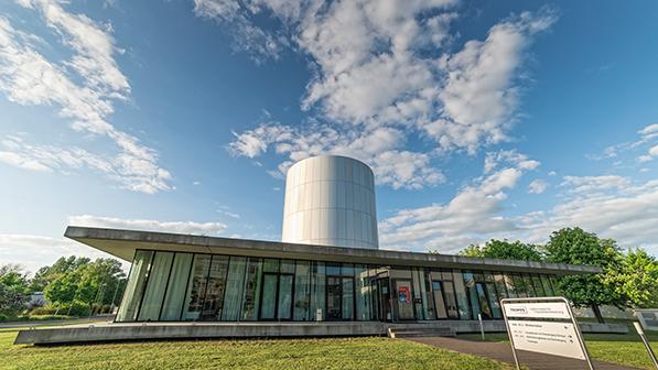 Gebäude des TROPOS-Wolkenlabors (Foto Tilo Arnhold, TROPOS)